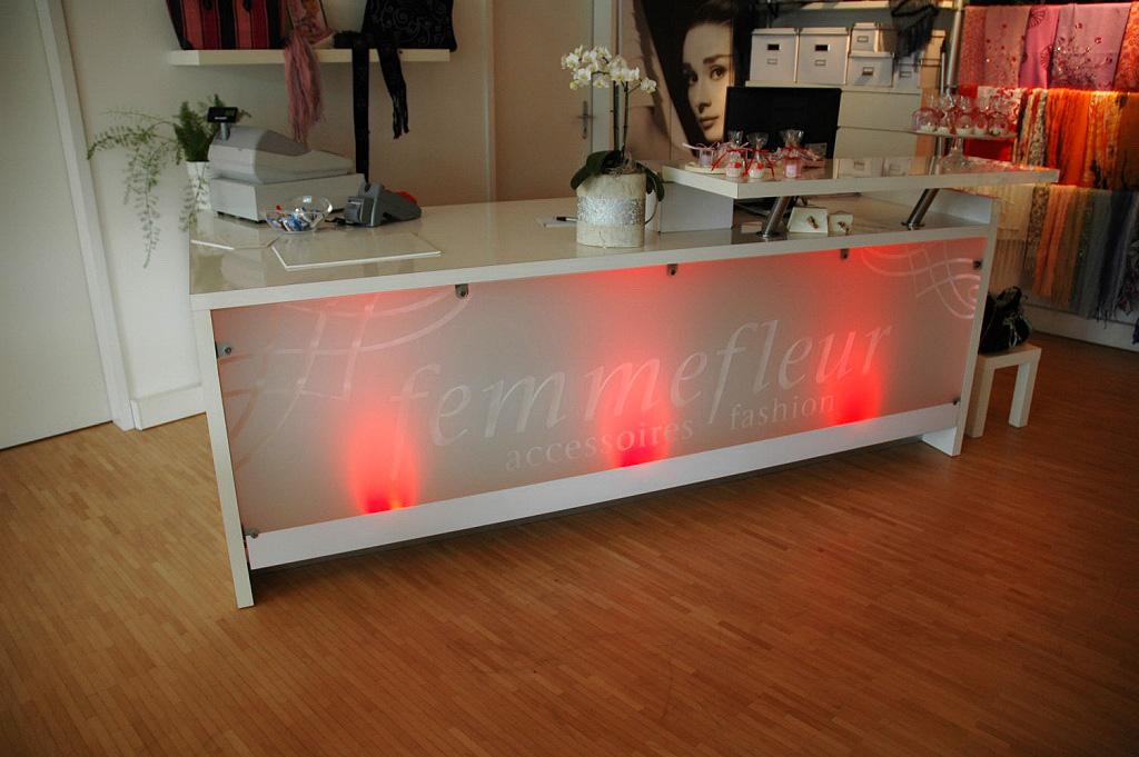 Femmefleur - Verkaufstresen