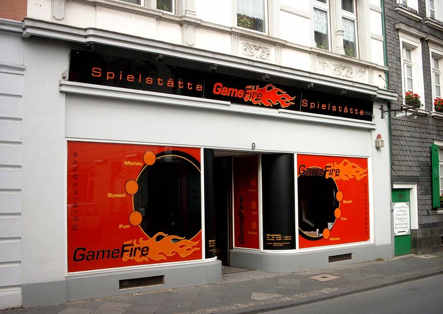Gamefire - Schaufenster