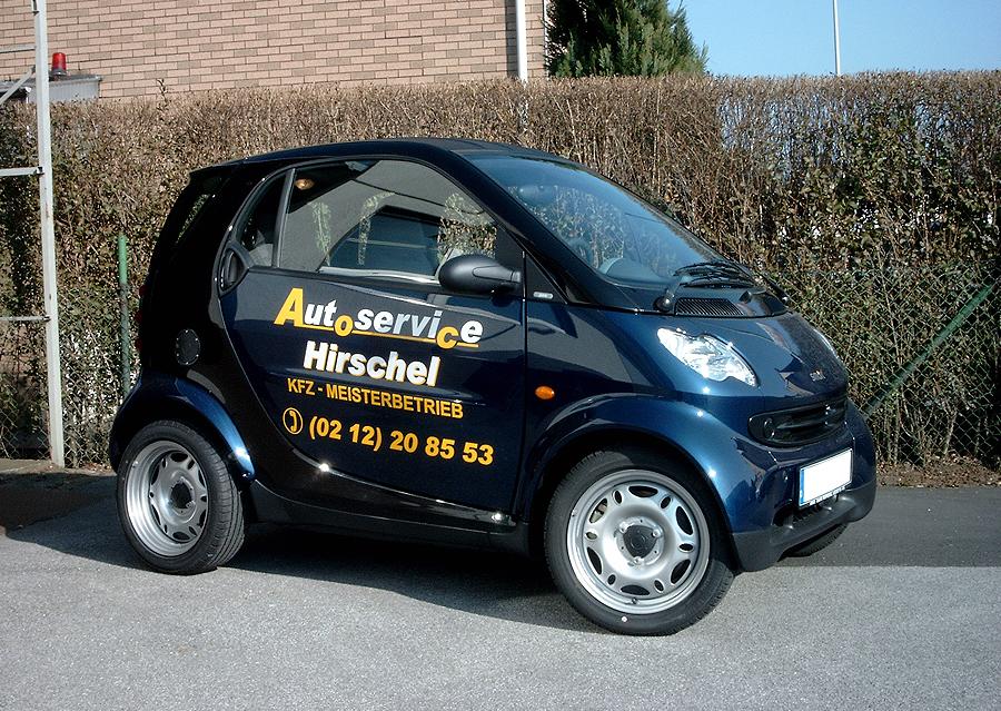 Hirschel - Kfz-Beschriftung