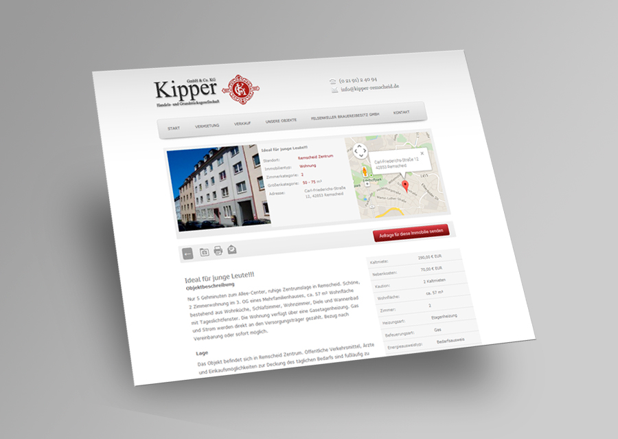 Kipper - Webseite